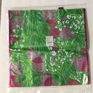New Lilly Pulitzer Tote Bag Plastic Shopper